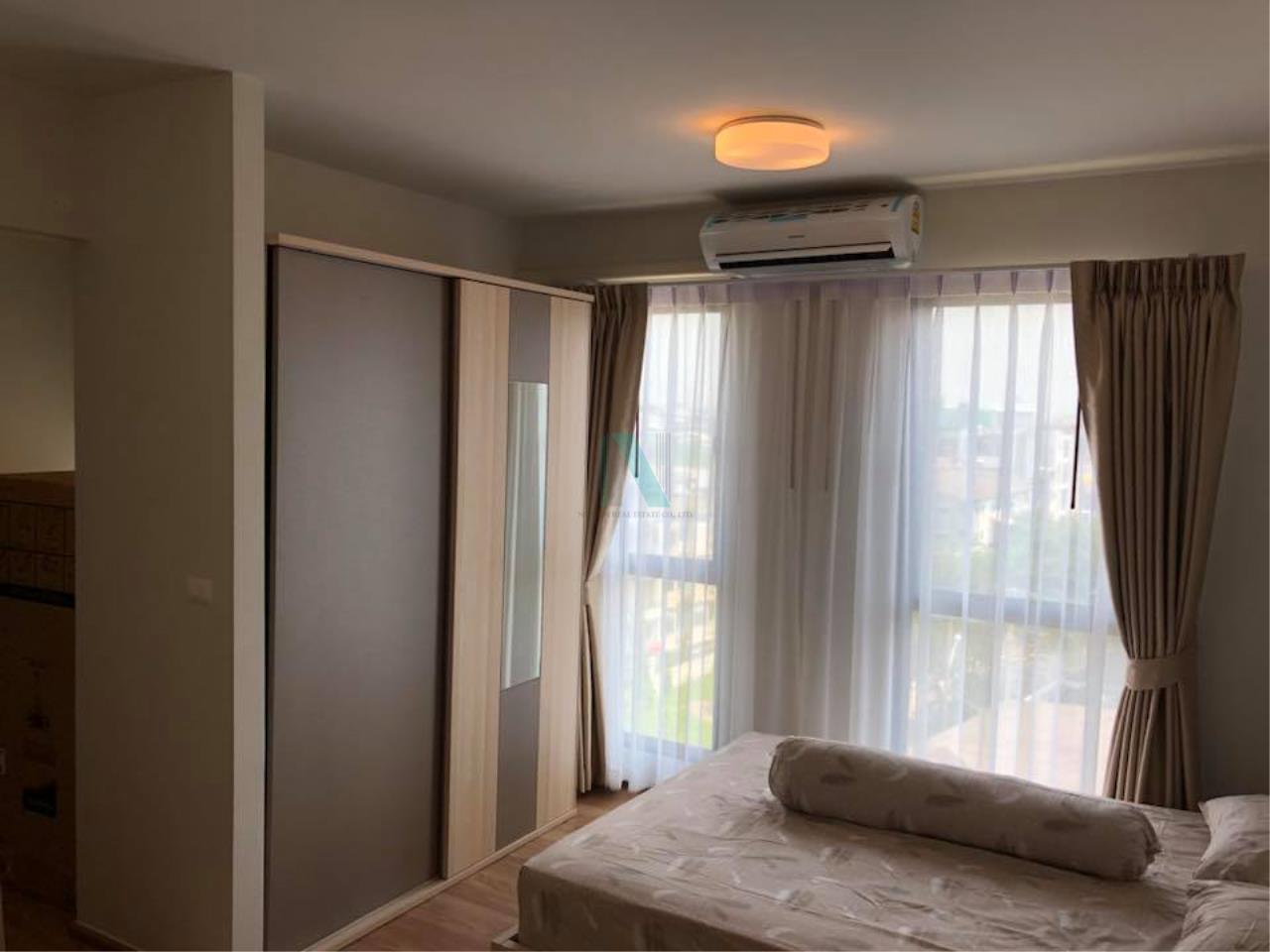 NOPPON REAL ESTATE CO.,LTD.  Agency's For Rent Unio Sukhumvit 72 STUDIO 7th Floor Building E near BTS Bearing. 2