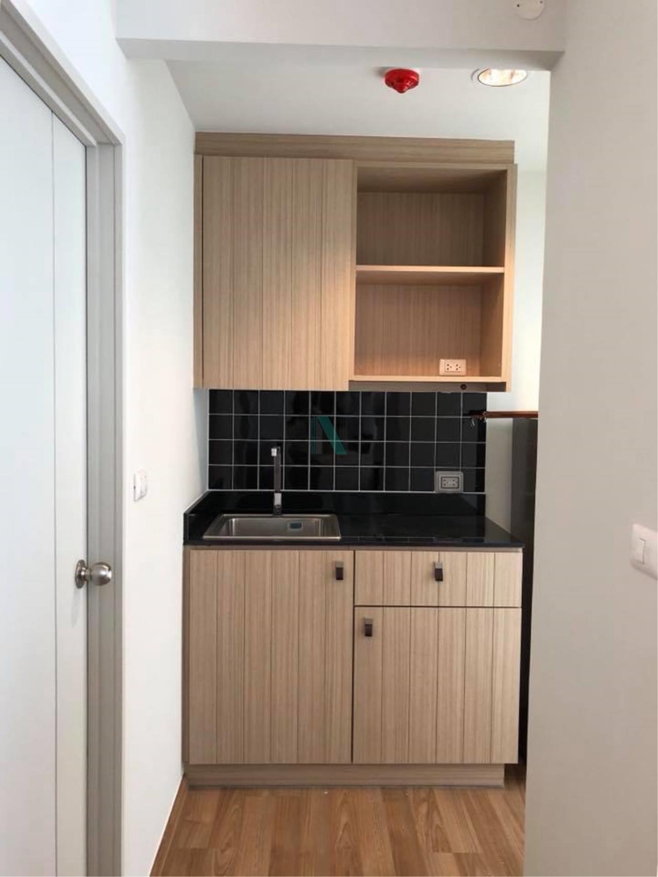 NOPPON REAL ESTATE CO.,LTD.  Agency's For Rent Unio Sukhumvit 72 STUDIO 7th Floor Building E near BTS Bearing. 6