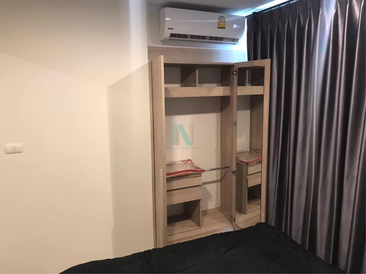 NOPPON REAL ESTATE CO.,LTD.  Agency's For rent The Excel Groove Lasalle 52 1 bedroom 6th floor near BTS Bearing. 5