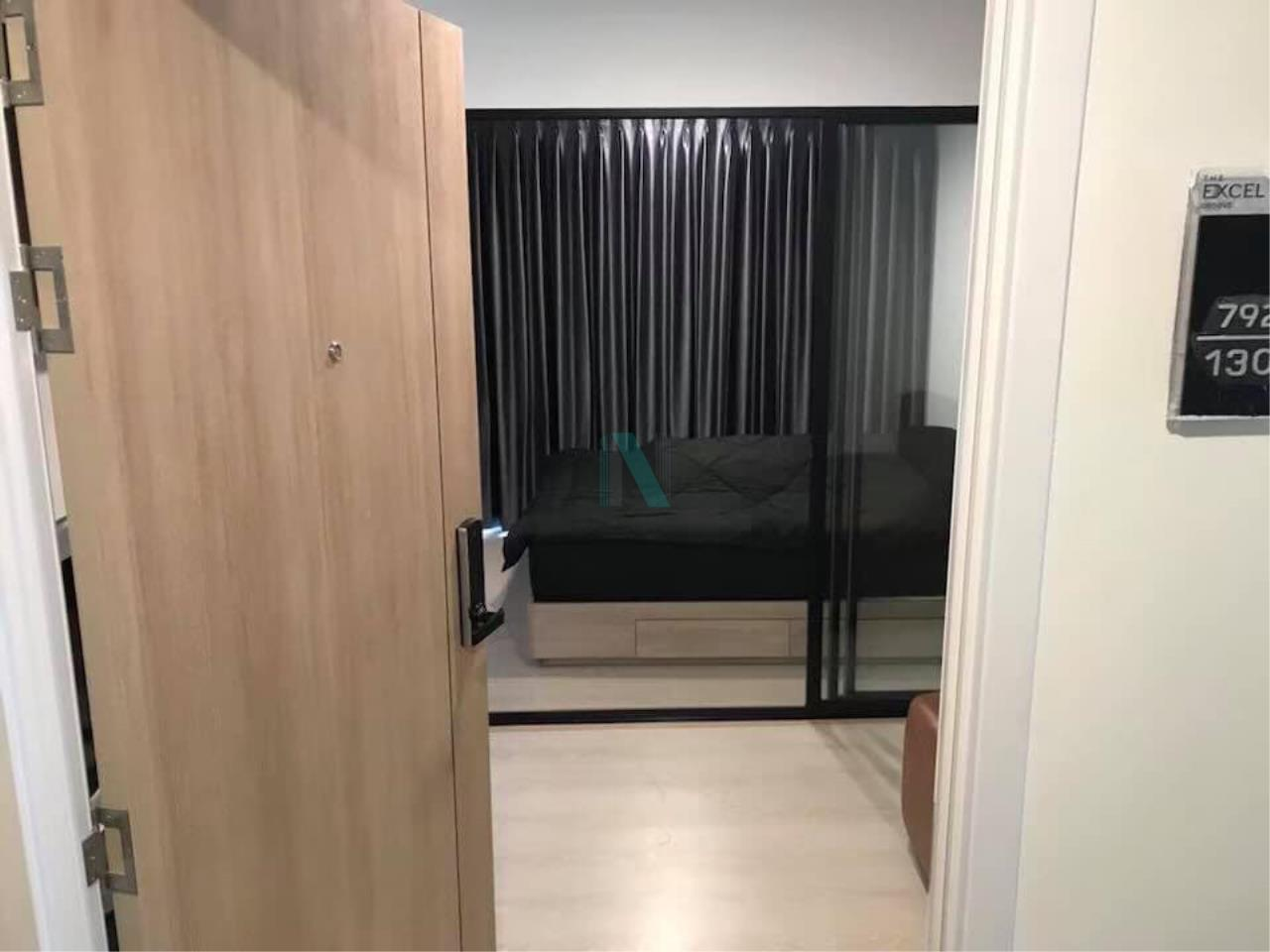 NOPPON REAL ESTATE CO.,LTD.  Agency's For rent The Excel Groove Lasalle 52 1 bedroom 6th floor near BTS Bearing. 7