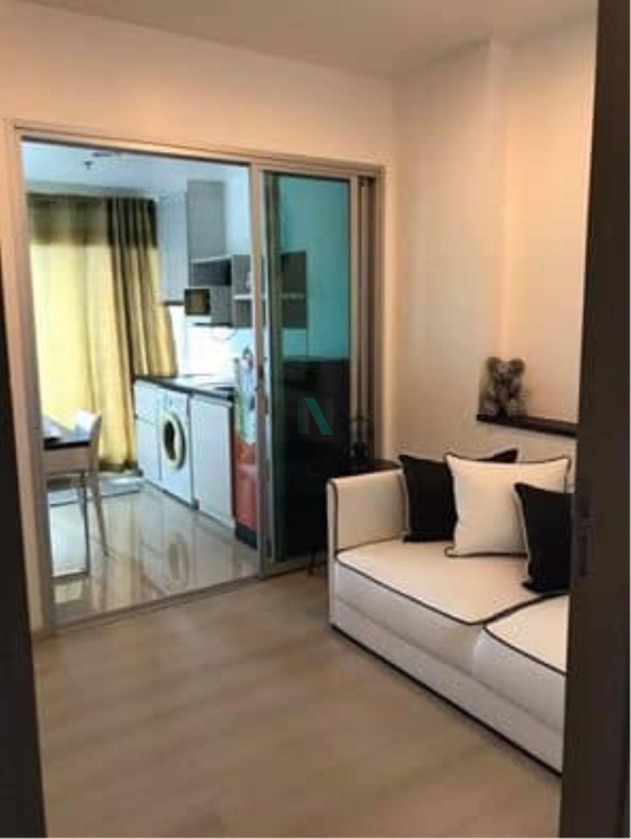 NOPPON REAL ESTATE CO.,LTD. Agency's For rent Life Ratchadaphisek 1 bedroom 16th Floor Building A near MRT Huai Khwang. 5