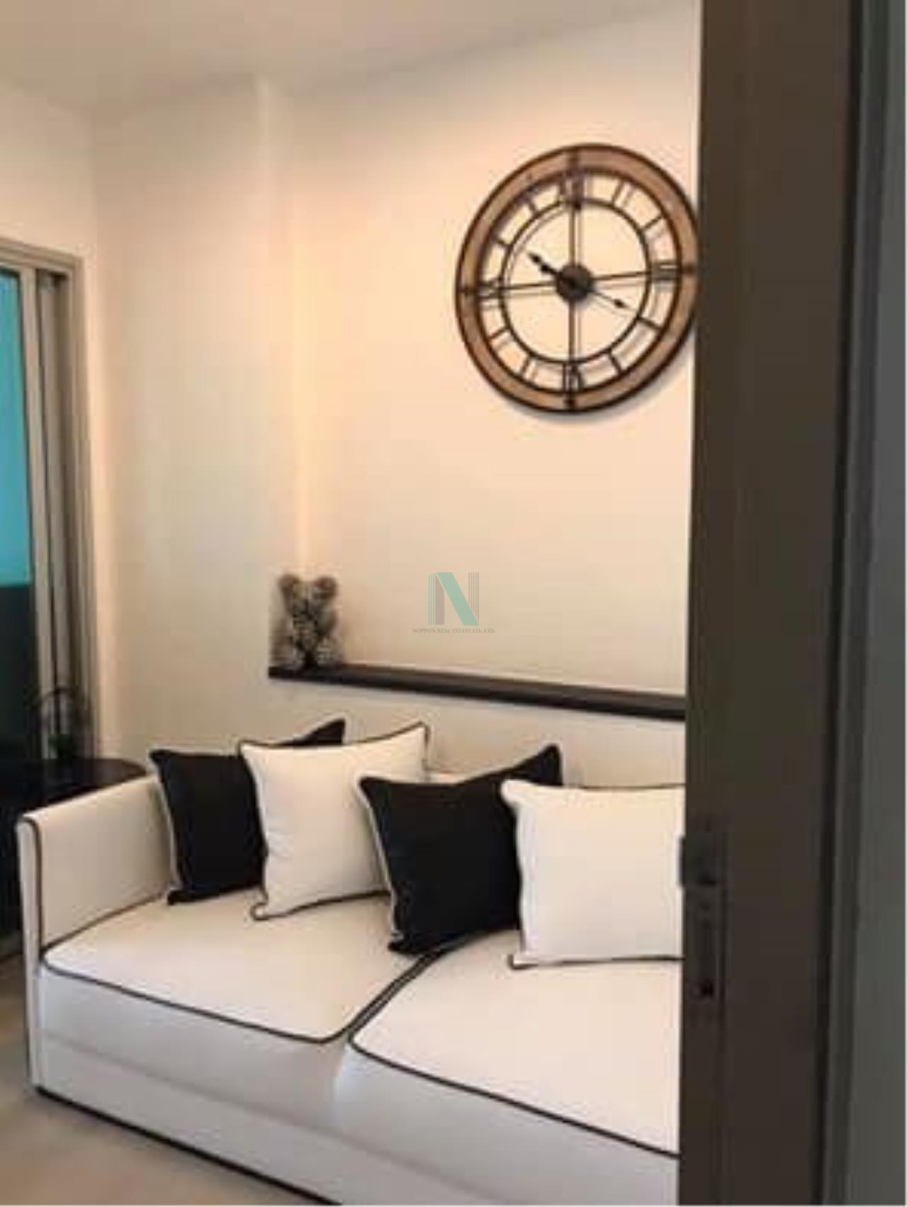 NOPPON REAL ESTATE CO.,LTD. Agency's For rent Life Ratchadaphisek 1 bedroom 16th Floor Building A near MRT Huai Khwang. 6