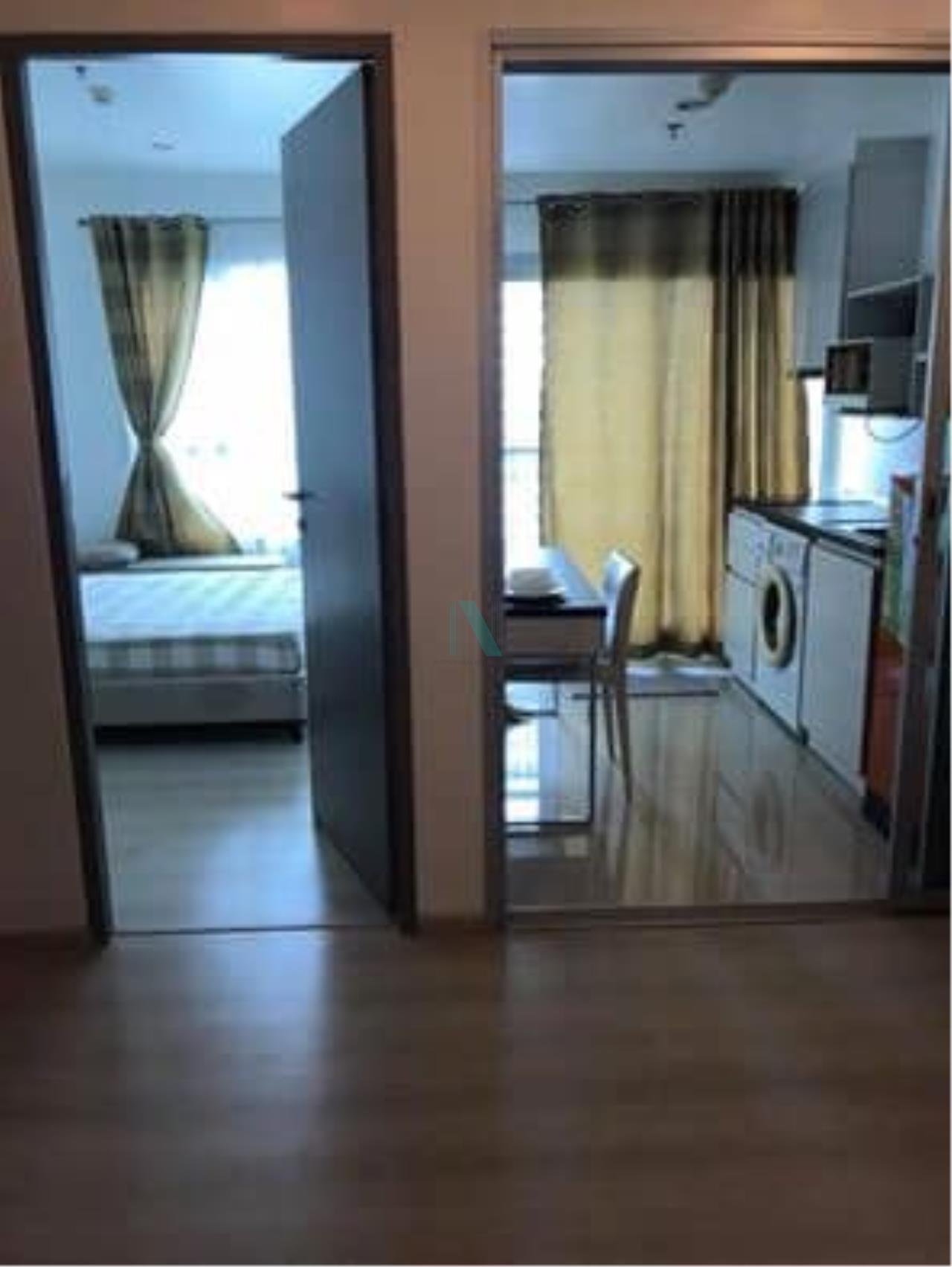 NOPPON REAL ESTATE CO.,LTD. Agency's For rent Life Ratchadaphisek 1 bedroom 16th Floor Building A near MRT Huai Khwang. 7
