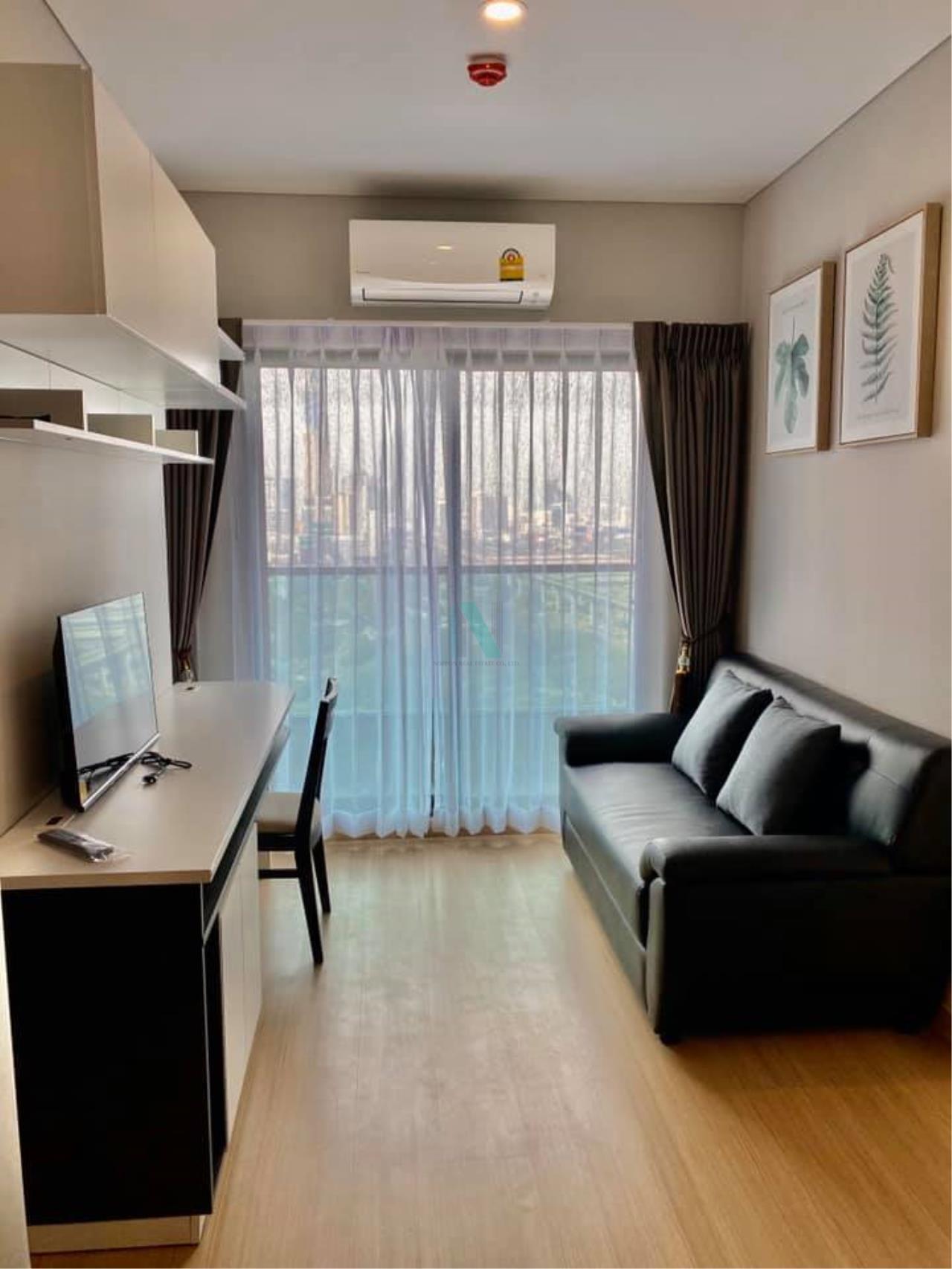 NOPPON REAL ESTATE CO.,LTD. Agency's For rent Lumpini Suite Petchburi-Makkasan 1 bedroom 26th floor near MRT Phetchaburi. 1
