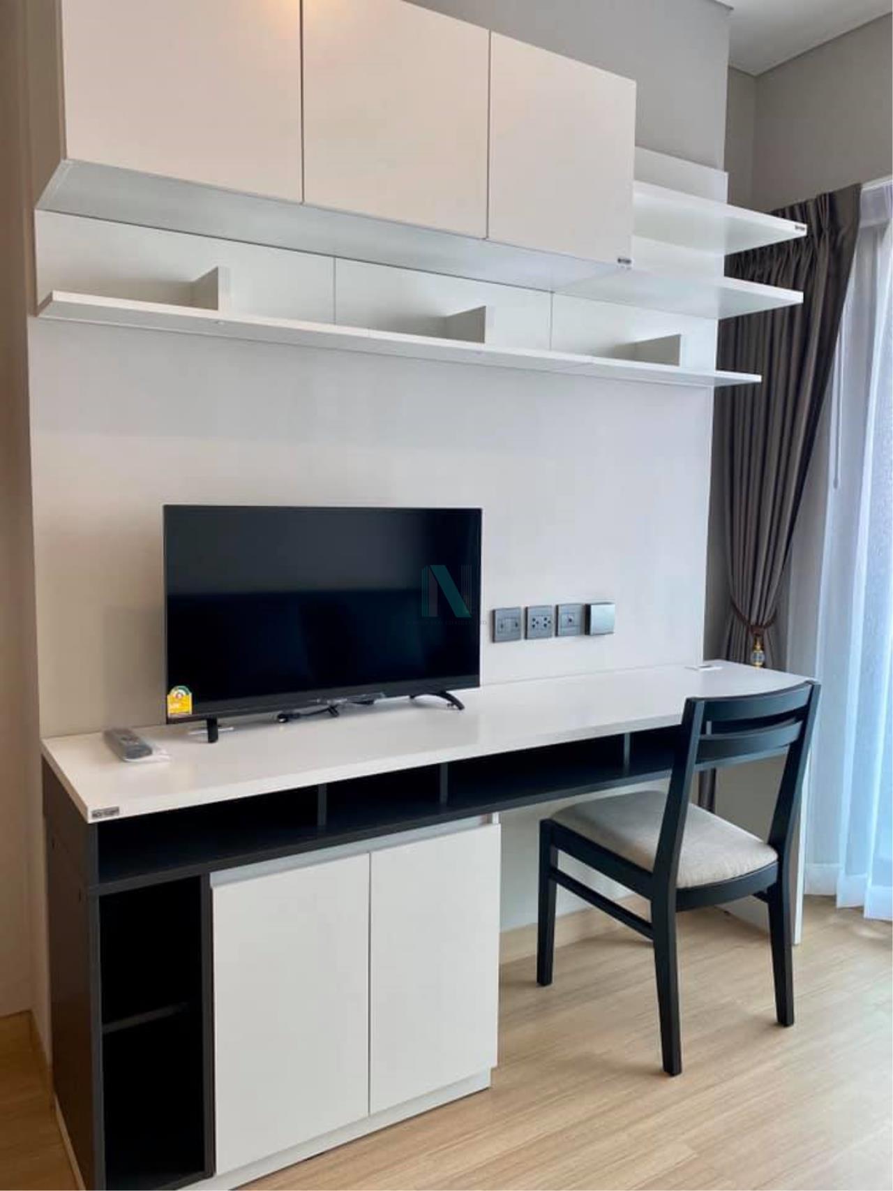 NOPPON REAL ESTATE CO.,LTD. Agency's For rent Lumpini Suite Petchburi-Makkasan 1 bedroom 26th floor near MRT Phetchaburi. 5