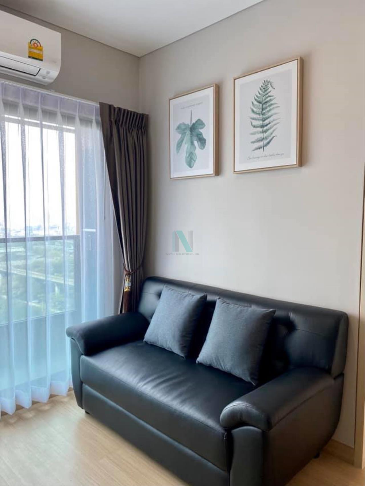 NOPPON REAL ESTATE CO.,LTD. Agency's For rent Lumpini Suite Petchburi-Makkasan 1 bedroom 26th floor near MRT Phetchaburi. 7