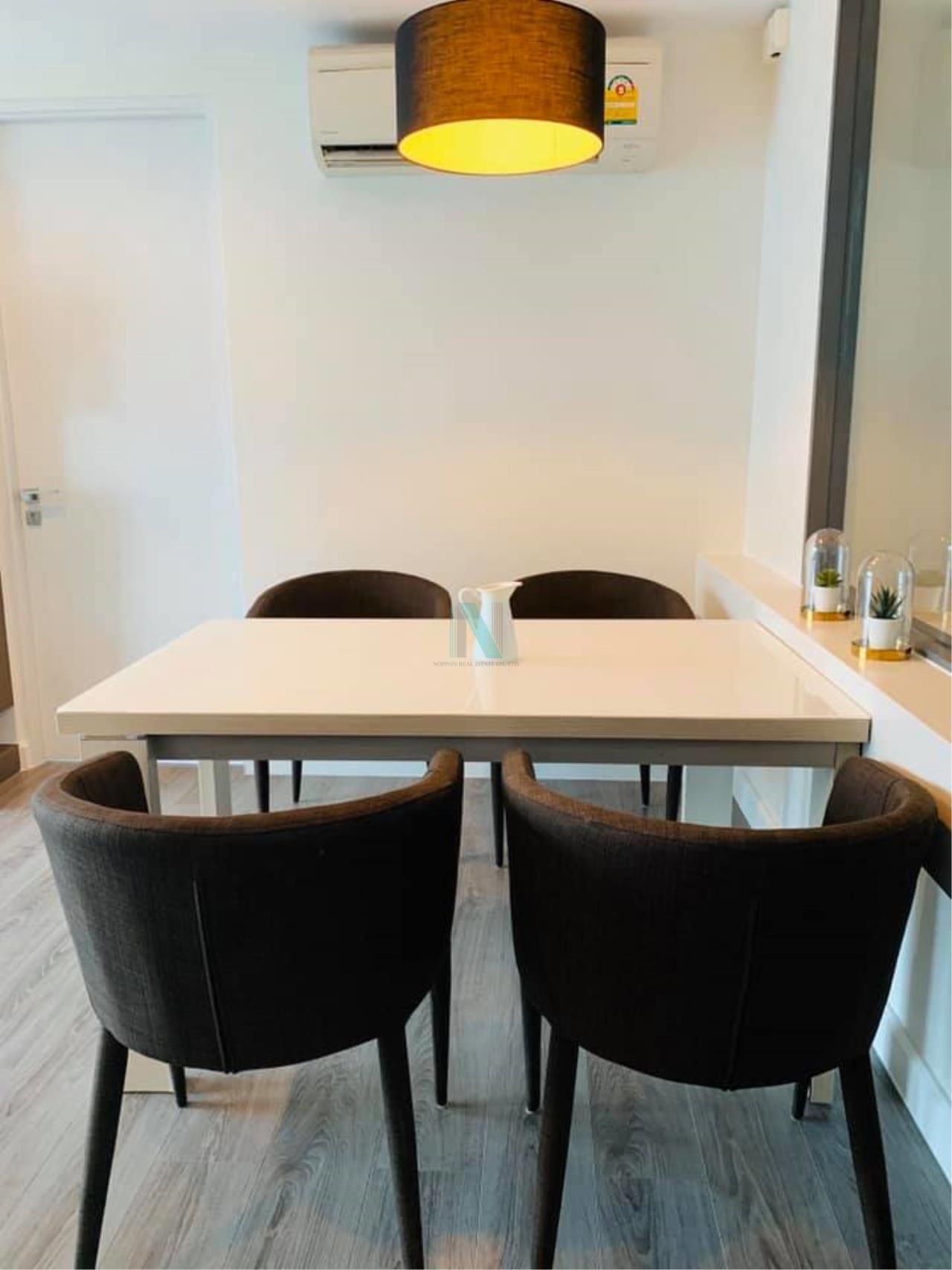 NOPPON REAL ESTATE CO.,LTD. Agency's For rent The Room Sukhumvit 40 2 bedrooms 7th floor near BTS Ekkamai. 4