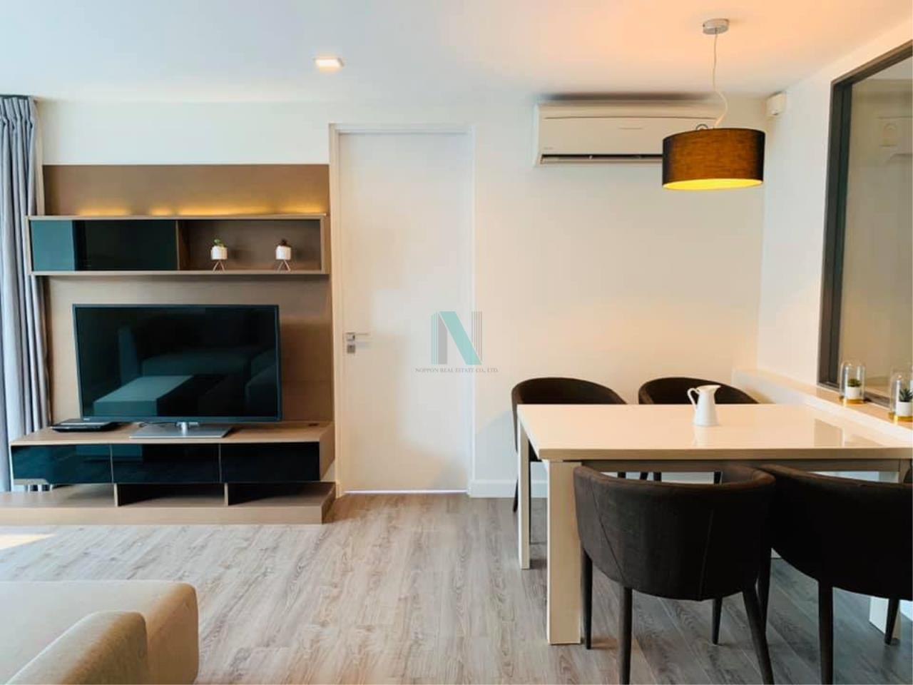 NOPPON REAL ESTATE CO.,LTD. Agency's For rent The Room Sukhumvit 40 2 bedrooms 7th floor near BTS Ekkamai. 5