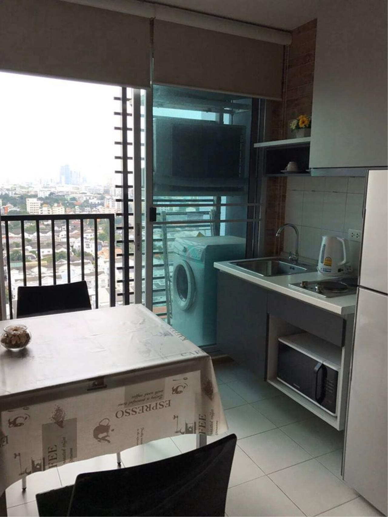 NOPPON REAL ESTATE CO.,LTD. Agency's For rent The Base Sukhumvit 77 1 bedroom 19th floor Building A near BTS On Nut. 6
