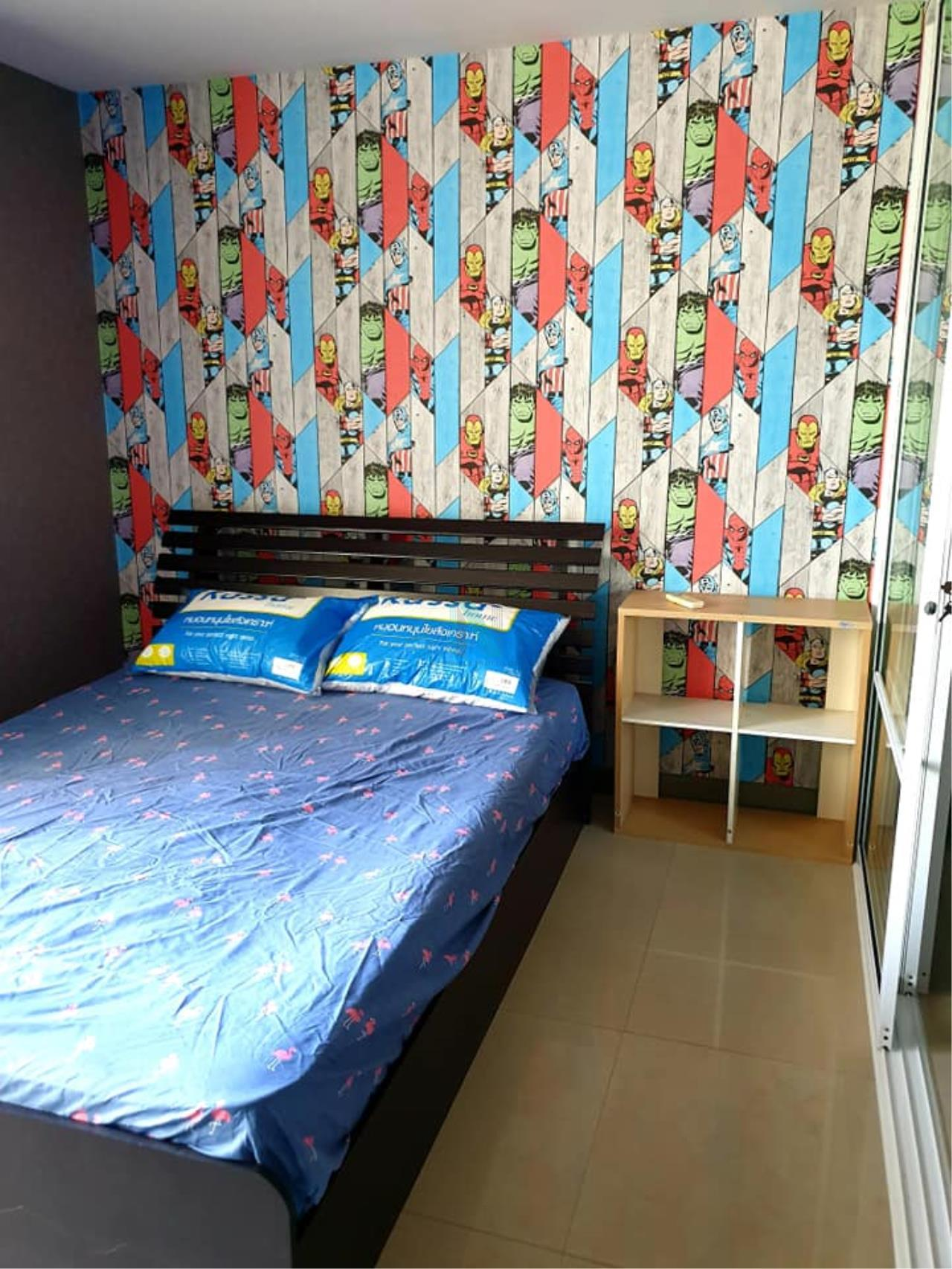 NOPPON REAL ESTATE CO.,LTD. Agency's For rent Regent Home 7 Sukhumvit 1 bedroom 4th floor Building D near BTS Bang Na. 4