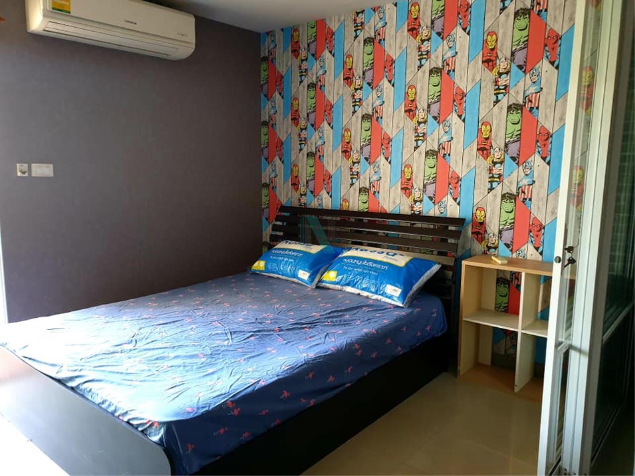 NOPPON REAL ESTATE CO.,LTD. Agency's For rent Regent Home 7 Sukhumvit 1 bedroom 4th floor Building D near BTS Bang Na. 7