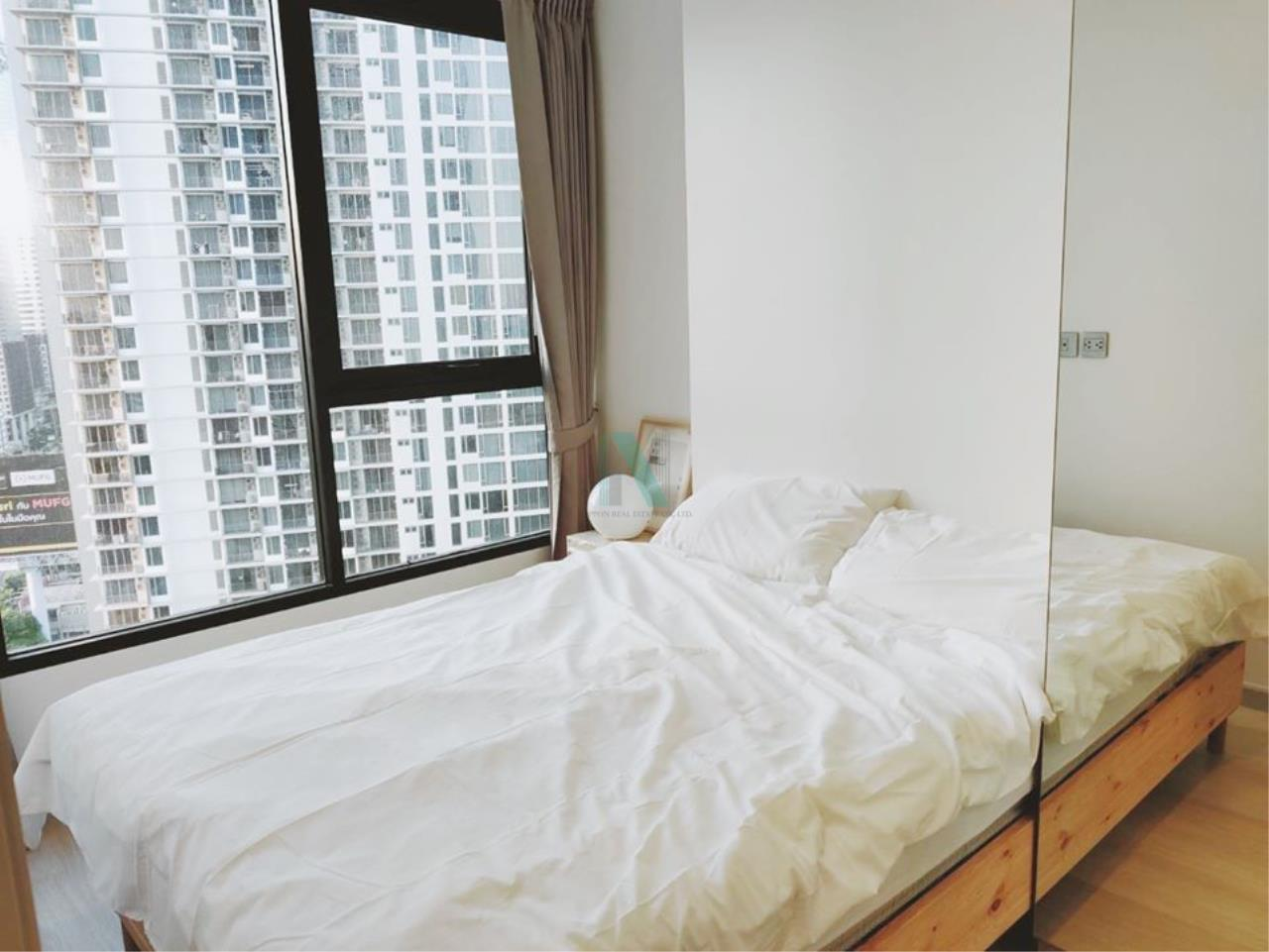 NOPPON REAL ESTATE CO.,LTD.  Agency's For rent Knightsbridge Prime Sathorn 1 bedroom 21st floor near BTS Chong Nonsi. 4