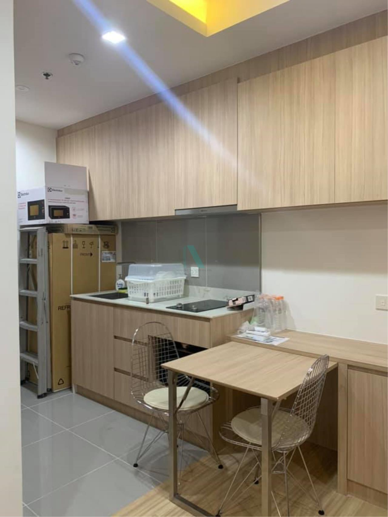 NOPPON REAL ESTATE CO.,LTD. Agency's For rent M Chatuchak 1 bedroom Floor 23 Building A near BTS Mo Chit. 5