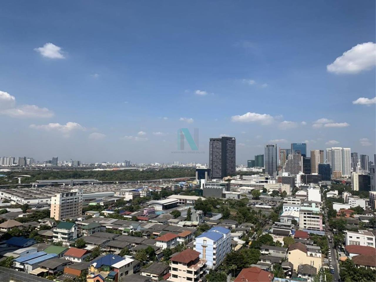 NOPPON REAL ESTATE CO.,LTD.  Agency's For rent Lumpini Park Vibhavadi-Chatuchak 1 bedroom 20th floor near BTS Mo Chit. 6