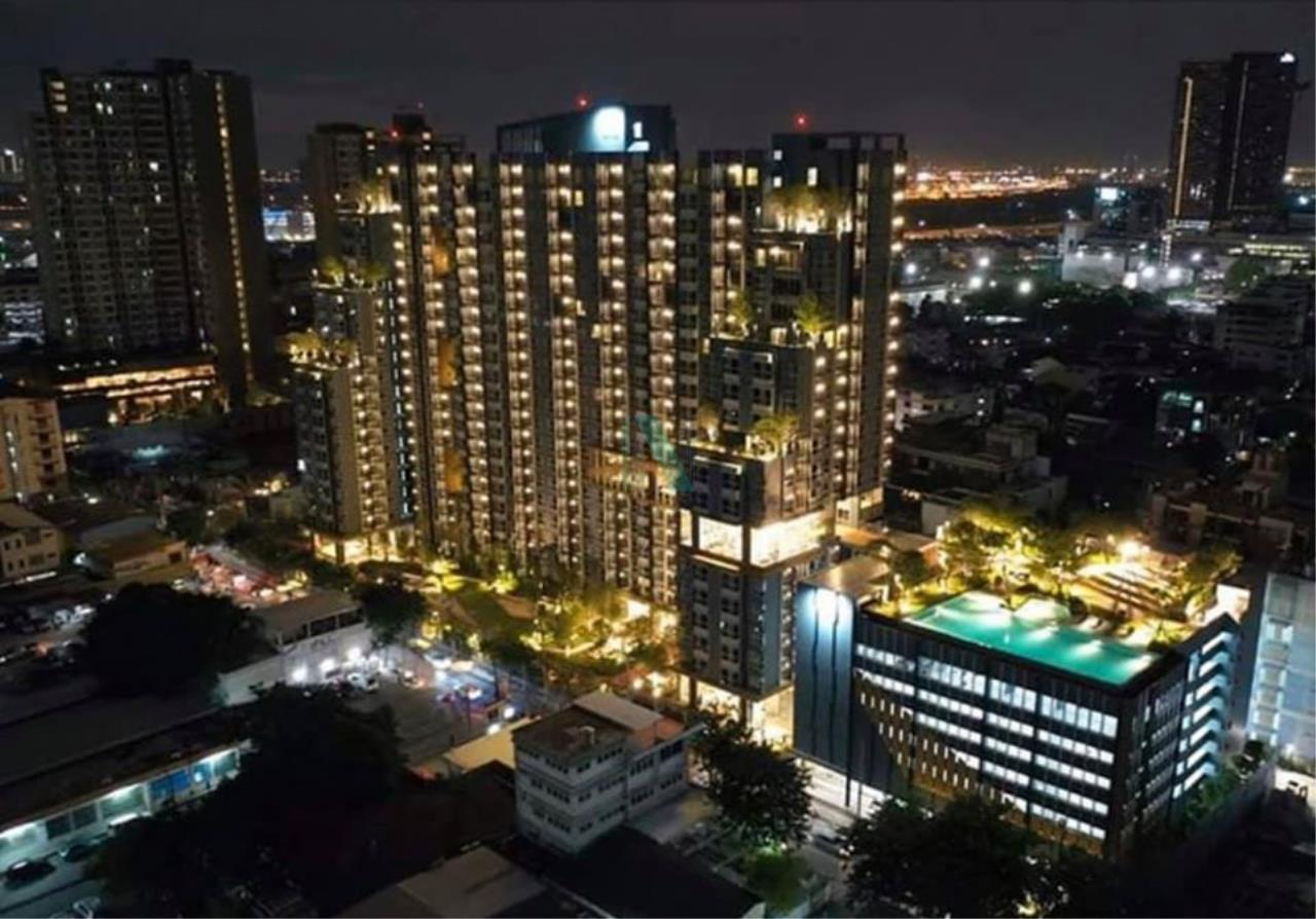 NOPPON REAL ESTATE CO.,LTD.  Agency's For rent Lumpini Park Vibhavadi-Chatuchak 1 bedroom 20th floor near BTS Mo Chit. 7