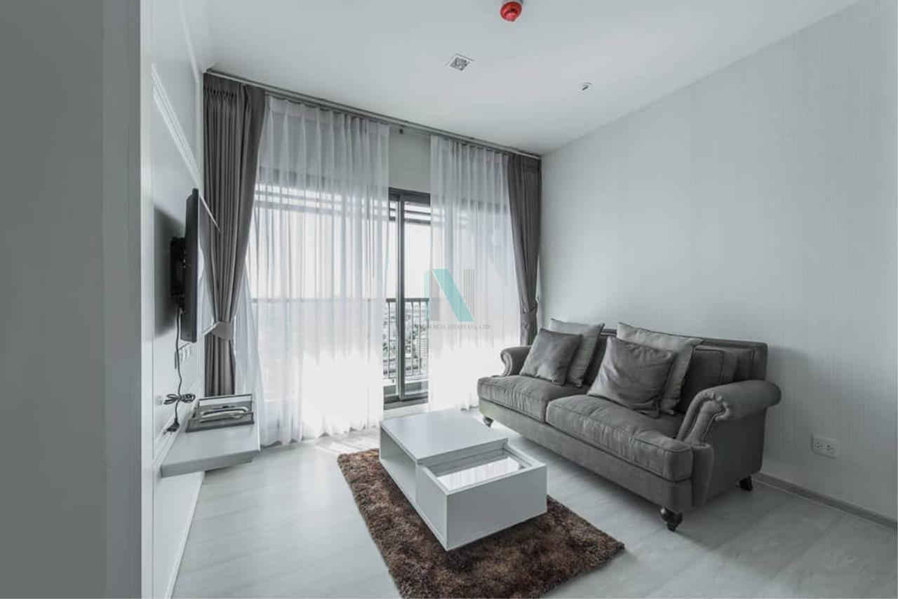 NOPPON REAL ESTATE CO.,LTD.  Agency's For rent Life Sukhumvit 48 2 bedrooms Floor 23 Building S near BTS Phra Khanong. 4