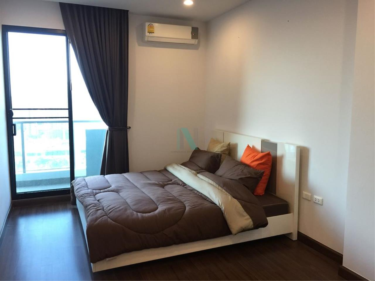 NOPPON REAL ESTATE CO.,LTD.  Agency's For rent Supalai Premier at Asoke 1 bedroom 28th floor near MRT Phetchaburi. 2