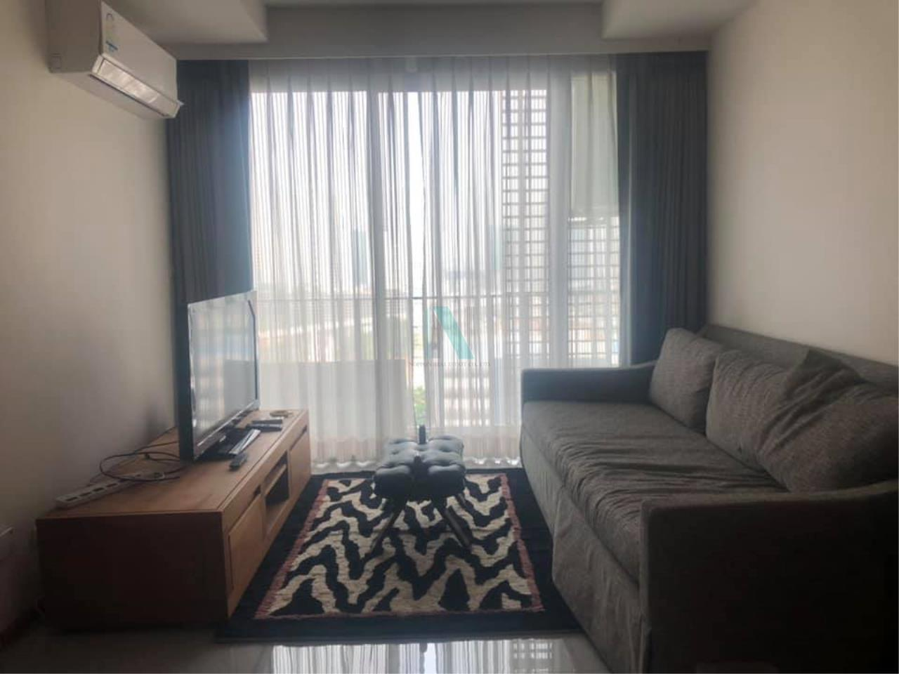 NOPPON REAL ESTATE CO.,LTD. Agency's For rent Abstracts Phahonyothin Park 1 bedroom 17th floor Building A near MRT Phahonyothin. 1