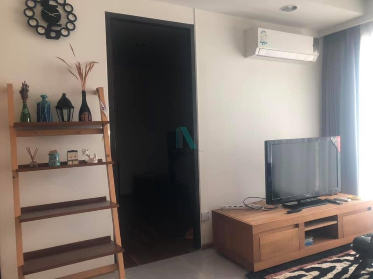 NOPPON REAL ESTATE CO.,LTD. Agency's For rent Abstracts Phahonyothin Park 1 bedroom 17th floor Building A near MRT Phahonyothin. 5