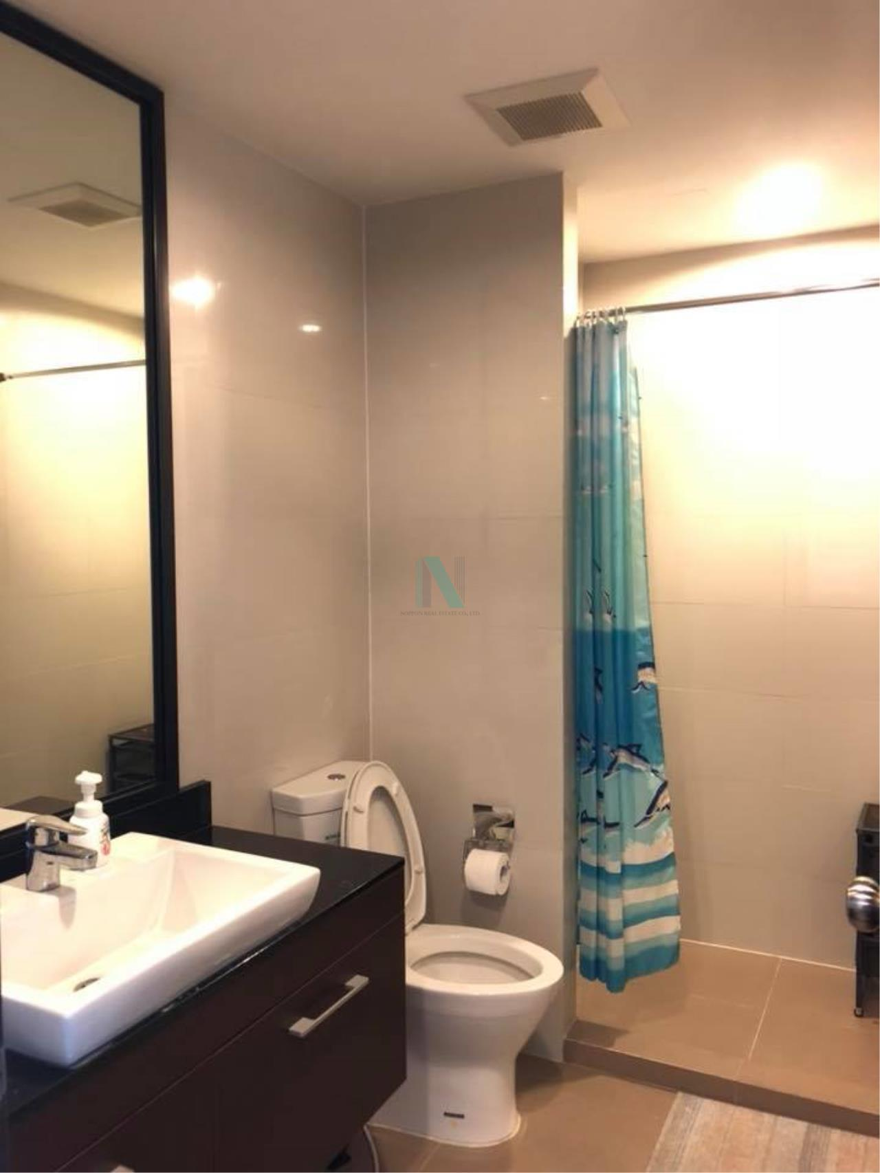 NOPPON REAL ESTATE CO.,LTD. Agency's For rent Abstracts Phahonyothin Park 1 bedroom 17th floor Building A near MRT Phahonyothin. 8