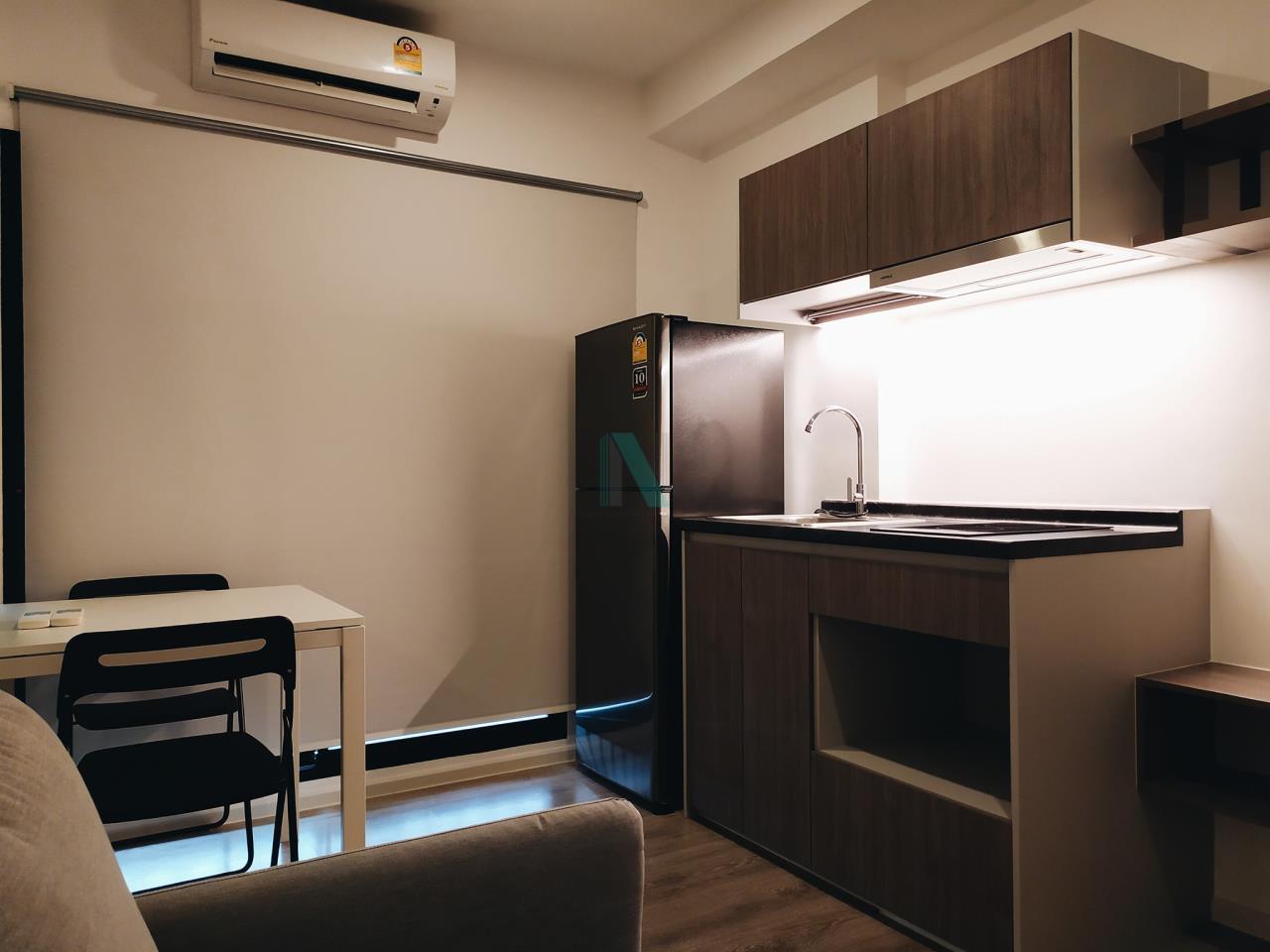 NOPPON REAL ESTATE CO.,LTD.  Agency's For Rent Kensington Sukhumvit - Thepharak  1 bedroom Floor 6 Building A near BTS Samrong. 2