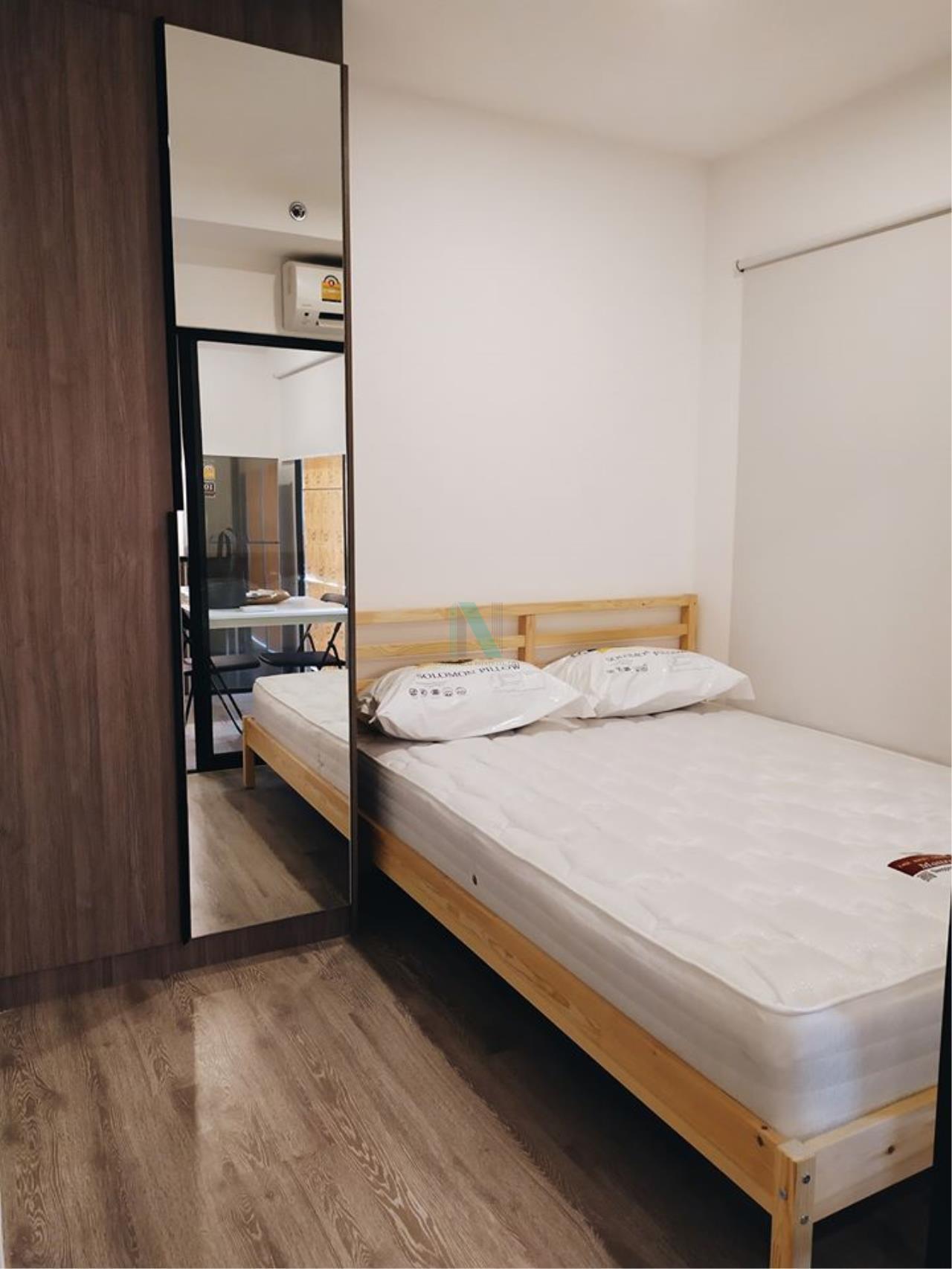 NOPPON REAL ESTATE CO.,LTD.  Agency's For Rent Kensington Sukhumvit - Thepharak  1 bedroom Floor 6 Building A near BTS Samrong. 3