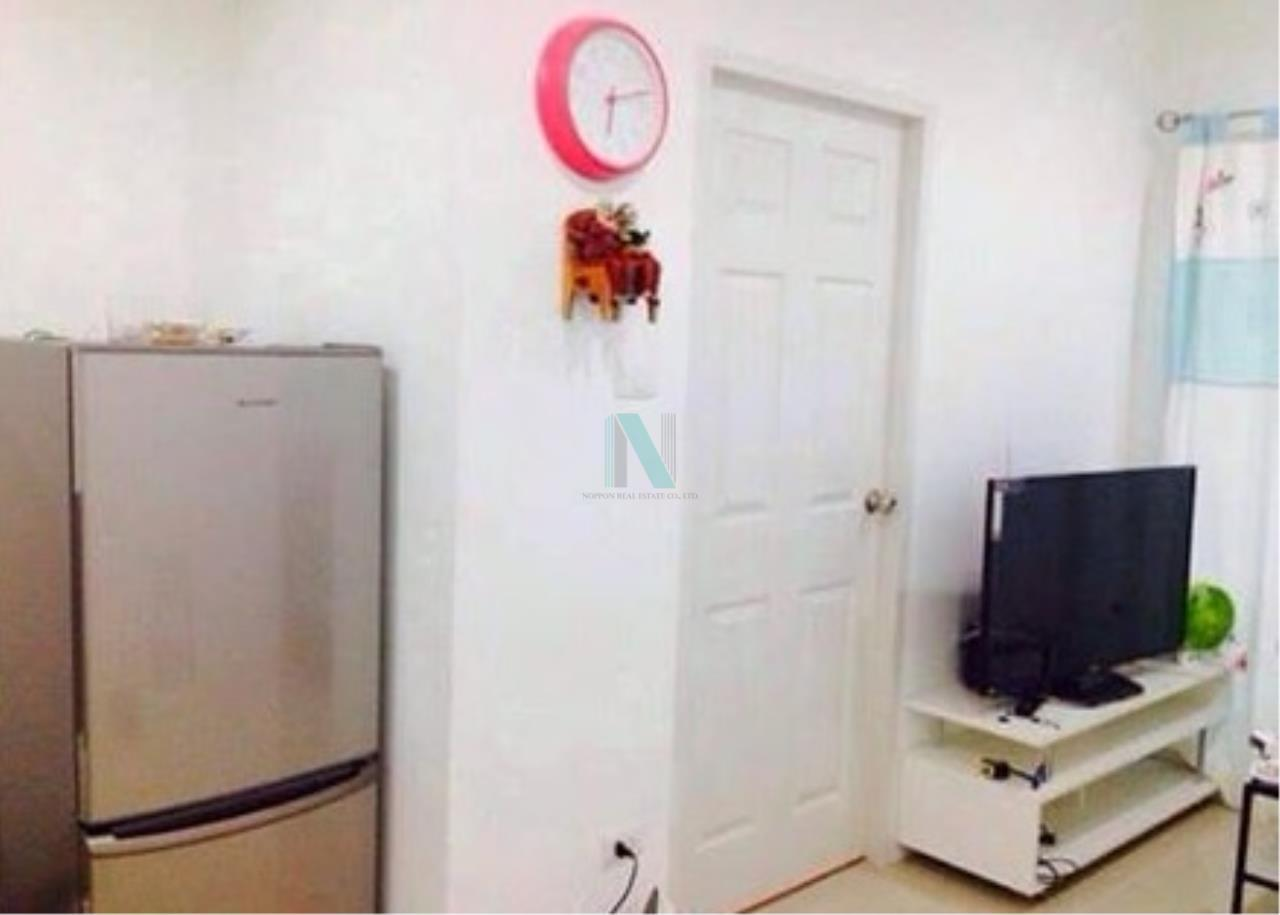 NOPPON REAL ESTATE CO.,LTD.  Agency's For rent BTS Residence 1 bedroom 18th floor near department stores Central Ladprao. 3