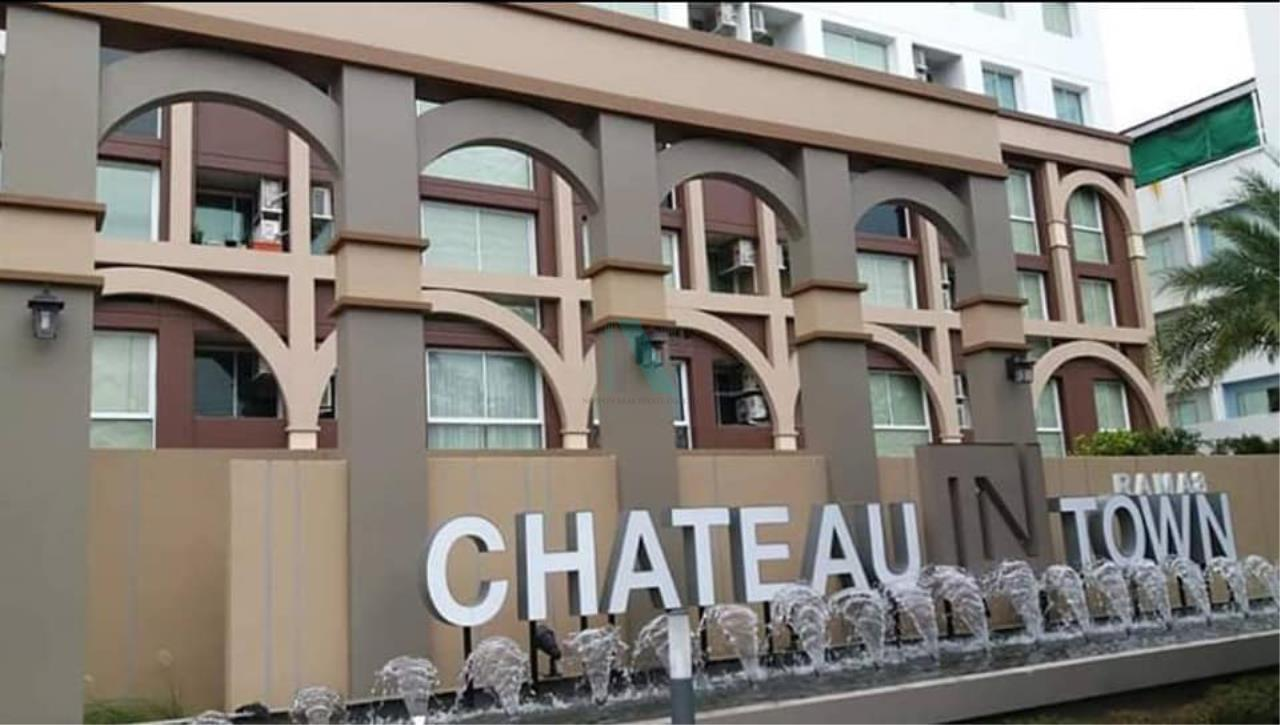 NOPPON REAL ESTATE CO.,LTD.  Agency's For rent Chateau In Town Rama 8 1 bedroom 2nd floor near Pata Pinklao. 8