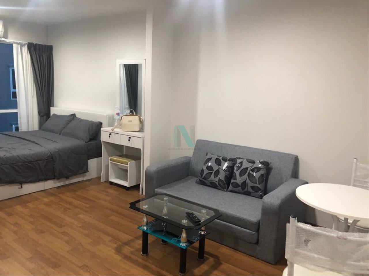 NOPPON REAL ESTATE CO.,LTD.  Agency's For rent Regent Home Sukhumvit 81 1 bedroom 3rd floor Building A near BTS On Nut. 1