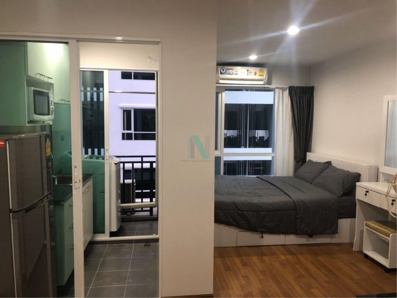 NOPPON REAL ESTATE CO.,LTD.  Agency's For rent Regent Home Sukhumvit 81 1 bedroom 3rd floor Building A near BTS On Nut. 5