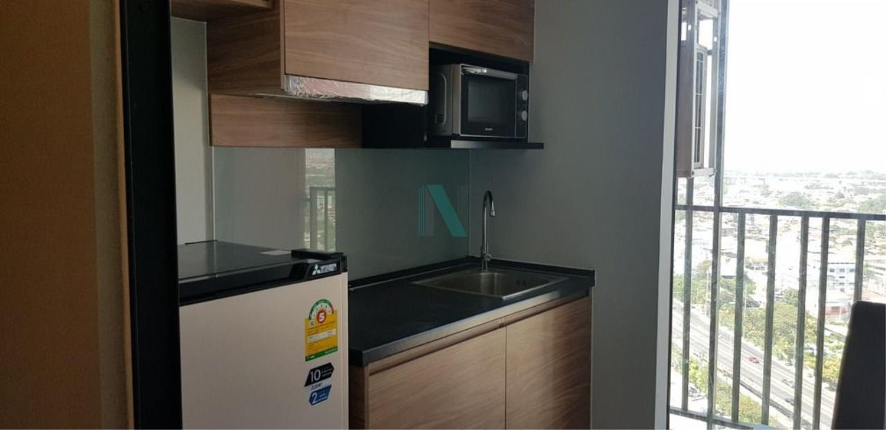 NOPPON REAL ESTATE CO.,LTD.  Agency's For rent Brix Charan Sanitwong 64 1 bedroom 24th floor near BTS Sirindhorn. 2