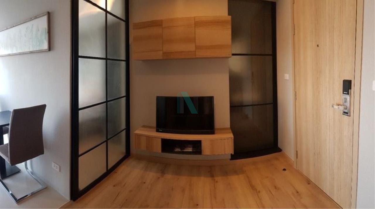 NOPPON REAL ESTATE CO.,LTD.  Agency's For rent Brix Charan Sanitwong 64 1 bedroom 24th floor near BTS Sirindhorn. 7