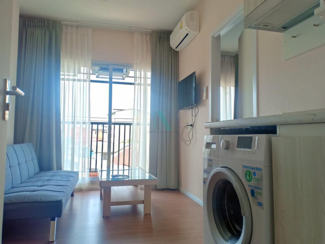 NOPPON REAL ESTATE CO.,LTD.  Agency's For rent Notting Hill, Sukhumvit - Phraeksa 1 bedroom 3rd floor near BTS Phraeksa. 2