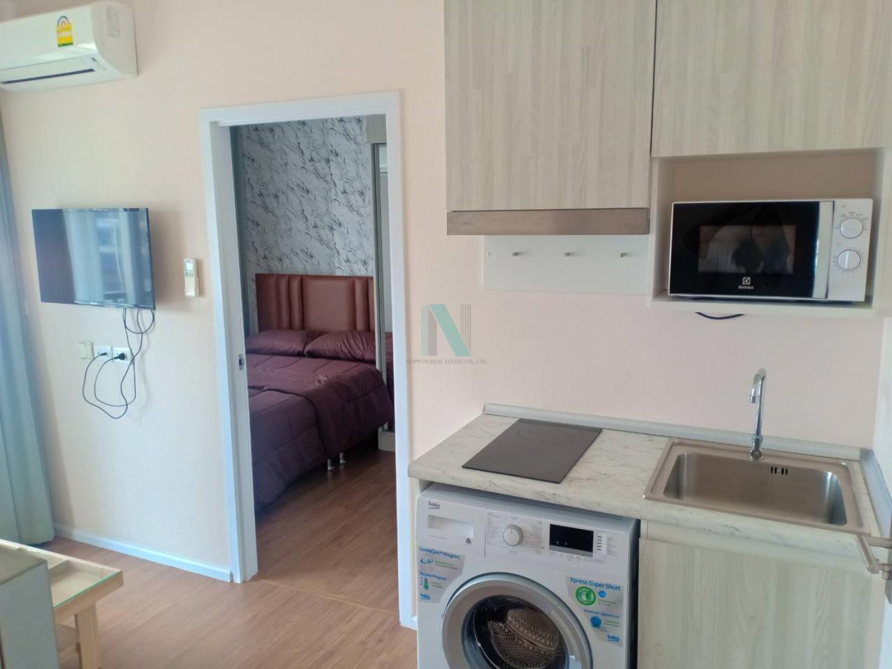 NOPPON REAL ESTATE CO.,LTD.  Agency's For rent Notting Hill, Sukhumvit - Phraeksa 1 bedroom 3rd floor near BTS Phraeksa. 3