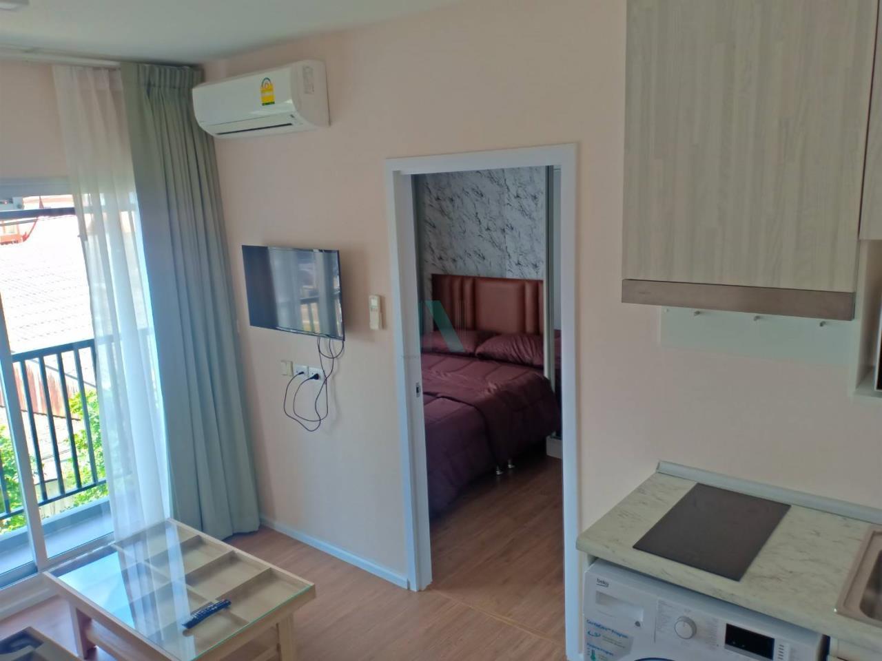 NOPPON REAL ESTATE CO.,LTD.  Agency's For rent Notting Hill, Sukhumvit - Phraeksa 1 bedroom 3rd floor near BTS Phraeksa. 4
