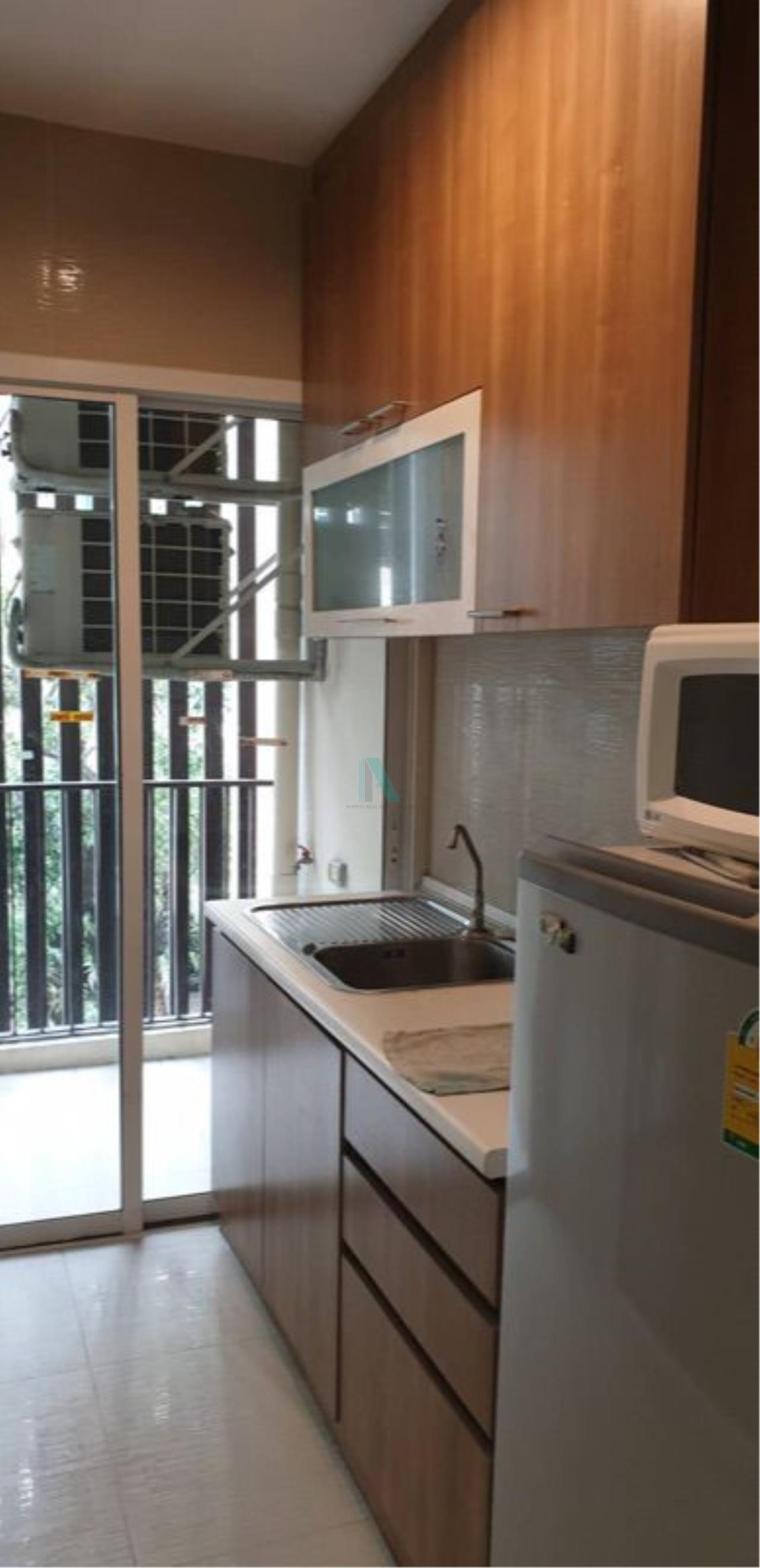 NOPPON REAL ESTATE CO.,LTD. Agency's For rent Happy Ladprao 101 1 bedroom 3rd floor Building C near Assumption University. 6