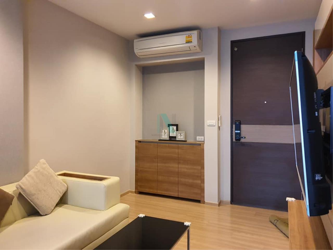 NOPPON REAL ESTATE CO.,LTD.  Agency's For rent Rhythm Sathorn 1 bedroom Floor 22 Building S near BTS Saphan Taksin. 6