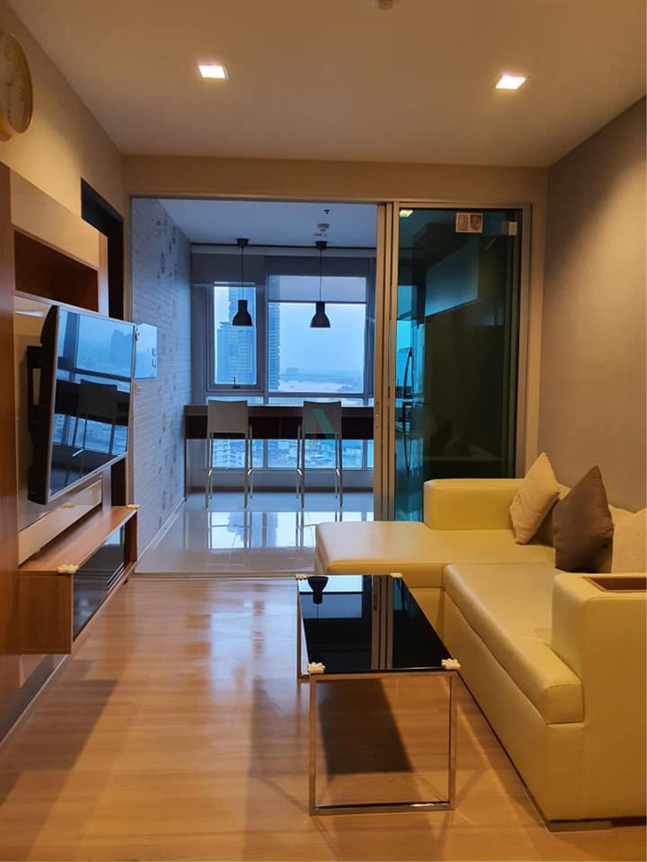 NOPPON REAL ESTATE CO.,LTD.  Agency's For rent Rhythm Sathorn 1 bedroom Floor 22 Building S near BTS Saphan Taksin. 7