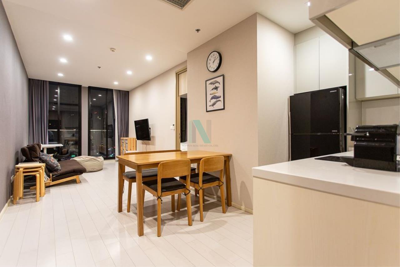 NOPPON REAL ESTATE CO.,LTD.  Agency's For rent Noble Ploenchit 1 bedroom 20th floor Building C near BTS Ploenchit. 4
