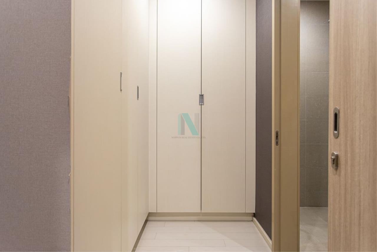 NOPPON REAL ESTATE CO.,LTD.  Agency's For rent Noble Ploenchit 1 bedroom 20th floor Building C near BTS Ploenchit. 7