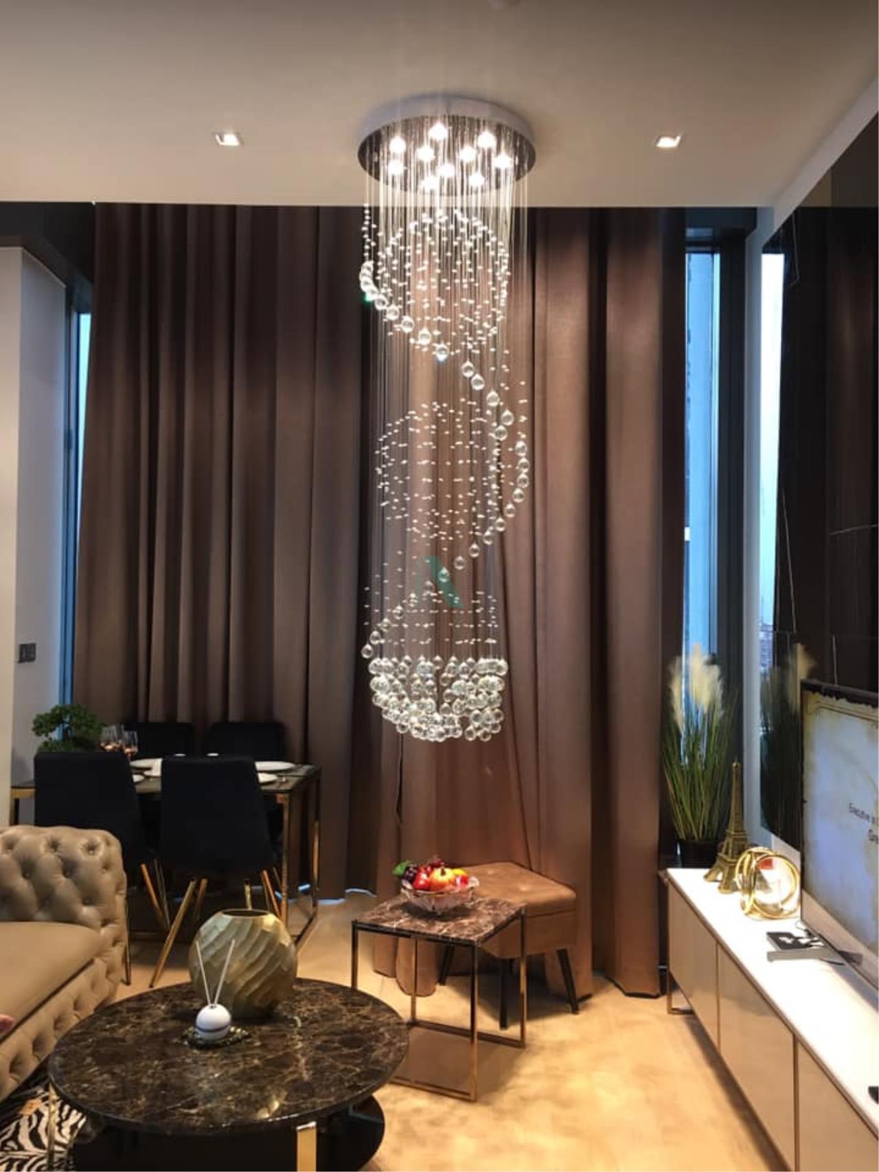 NOPPON REAL ESTATE CO.,LTD.  Agency's For Rent 28 CHIDLOM DUPLEX 1 Bedroom Floor 16 near BTS Chit Lom. 1