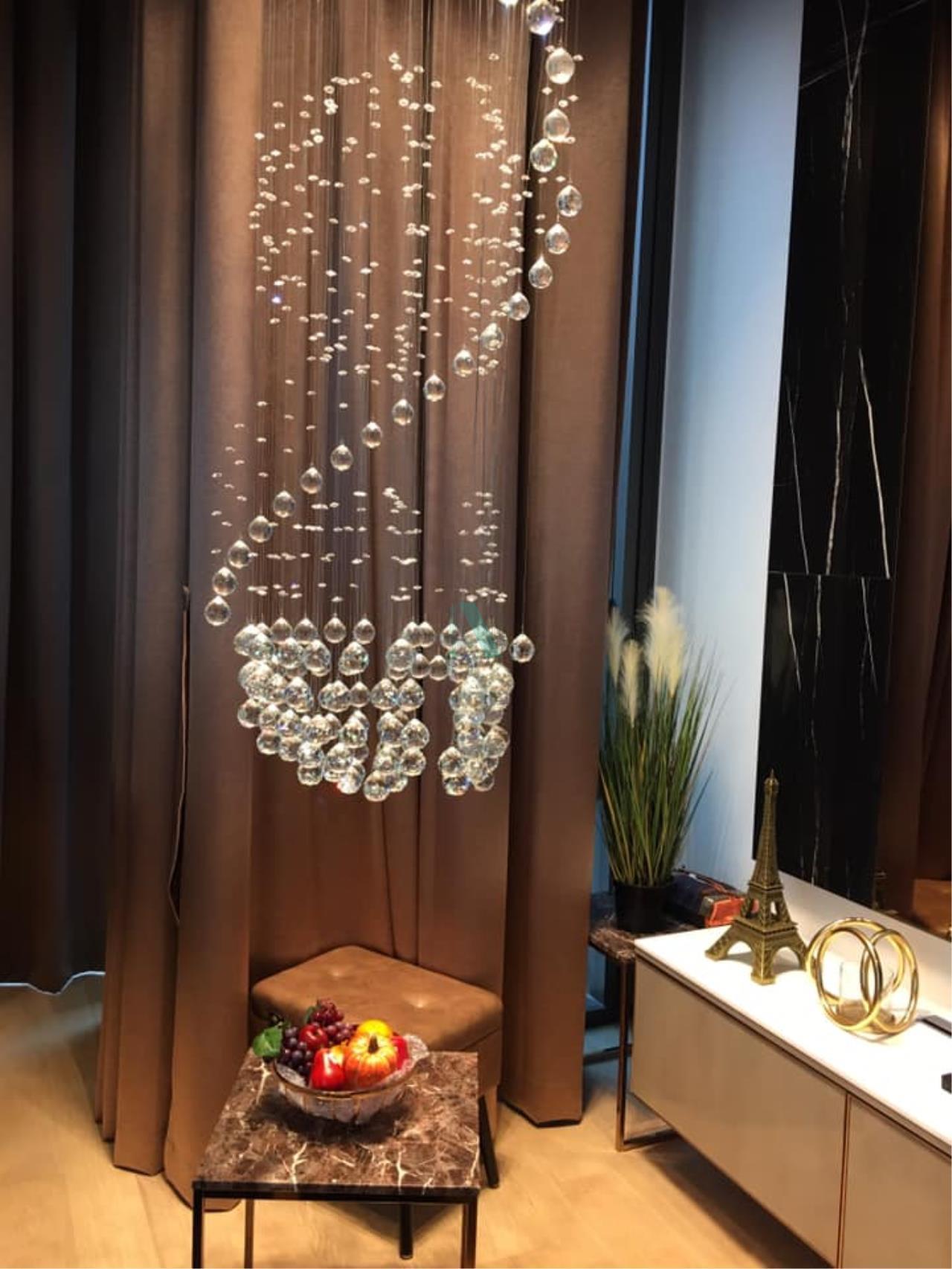 NOPPON REAL ESTATE CO.,LTD.  Agency's For Rent 28 CHIDLOM DUPLEX 1 Bedroom Floor 16 near BTS Chit Lom. 4