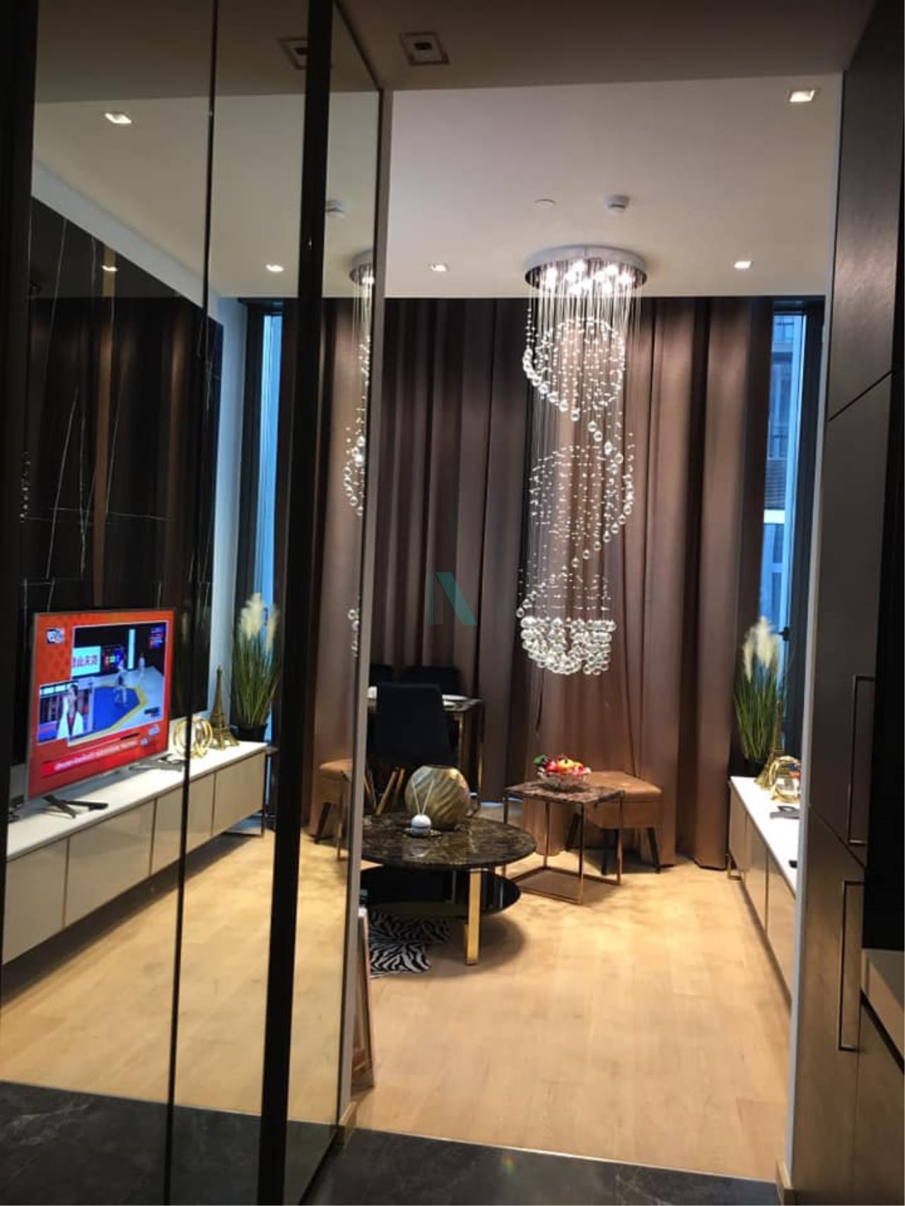 NOPPON REAL ESTATE CO.,LTD.  Agency's For Rent 28 CHIDLOM DUPLEX 1 Bedroom Floor 16 near BTS Chit Lom. 5