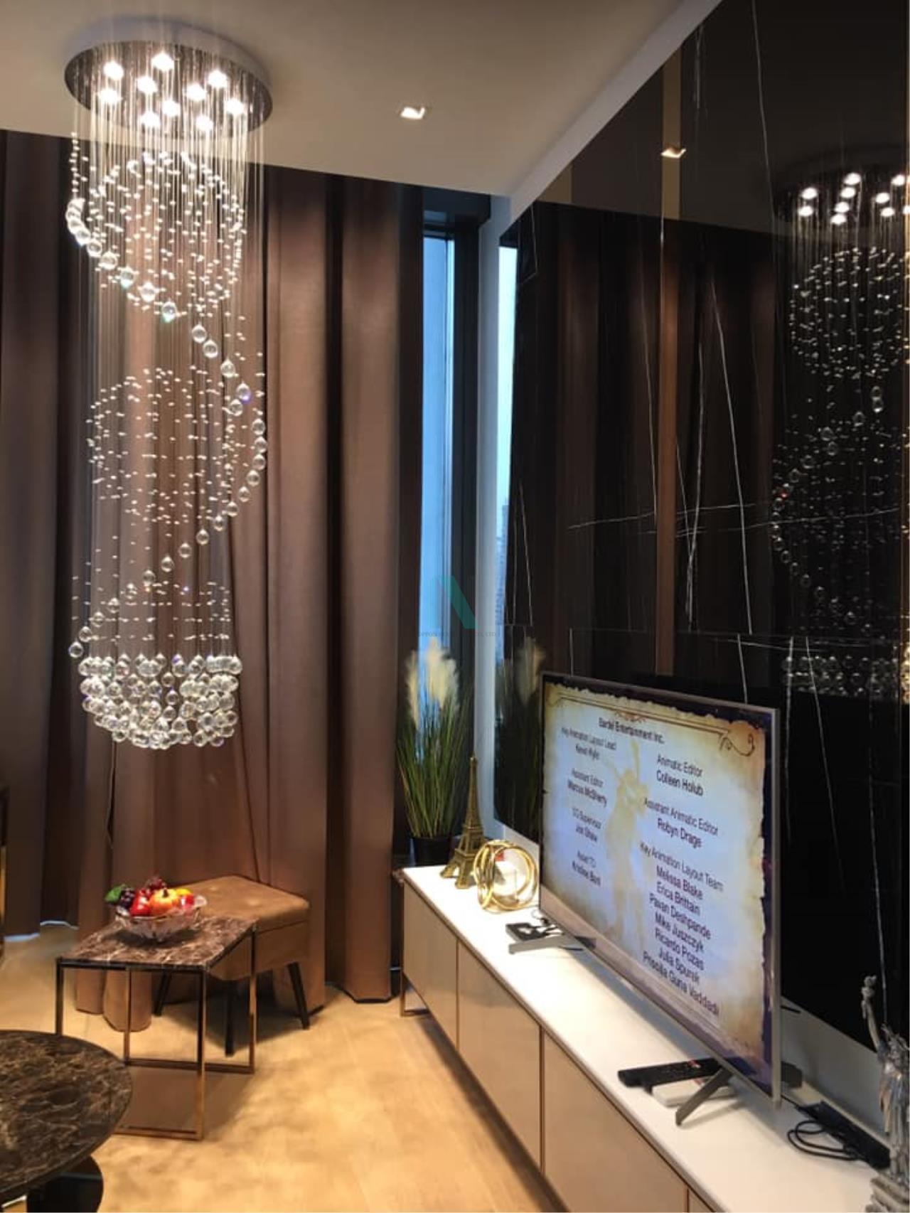 NOPPON REAL ESTATE CO.,LTD.  Agency's For Rent 28 CHIDLOM DUPLEX 1 Bedroom Floor 16 near BTS Chit Lom. 8