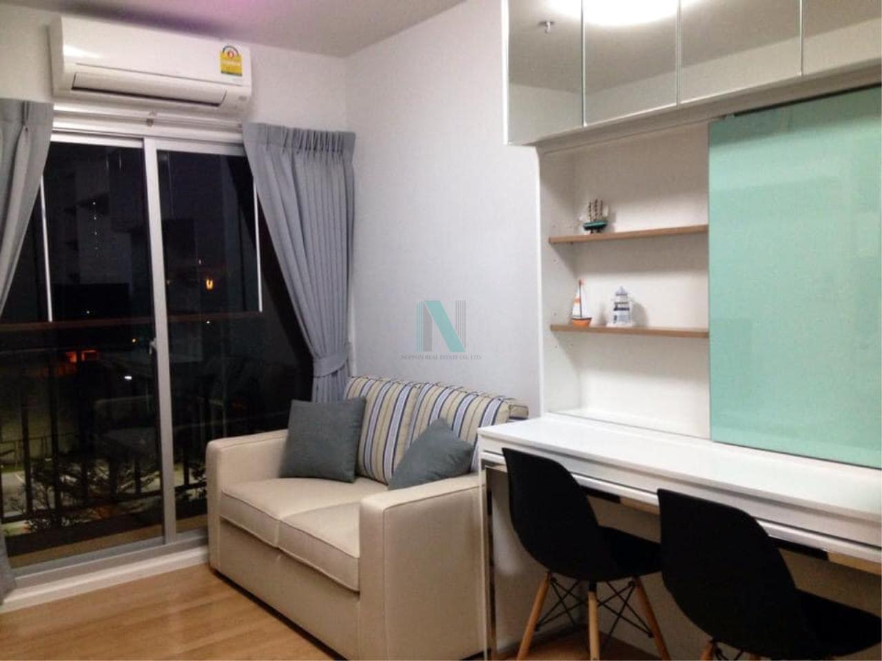 NOPPON REAL ESTATE CO.,LTD.  Agency's For rent The Parkland Lite Sukhumvit-Paknam 1 bedroom 4th floor Building B near BTS Pak Nam. 6