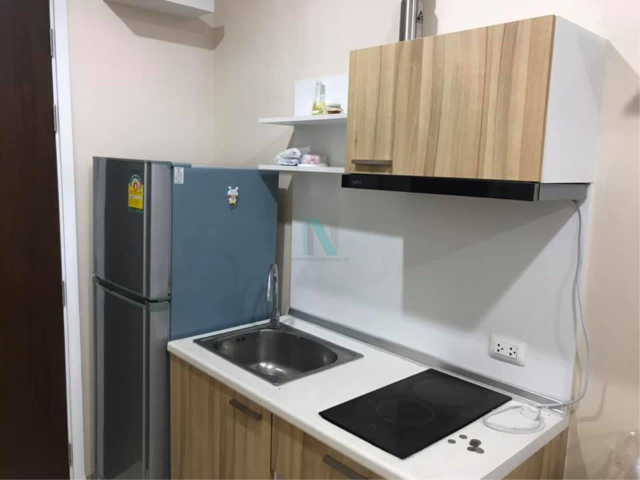NOPPON REAL ESTATE CO.,LTD. Agency's For Rent The Privacy Rewadee 1 Bedroom 6th Floor Building C . 1