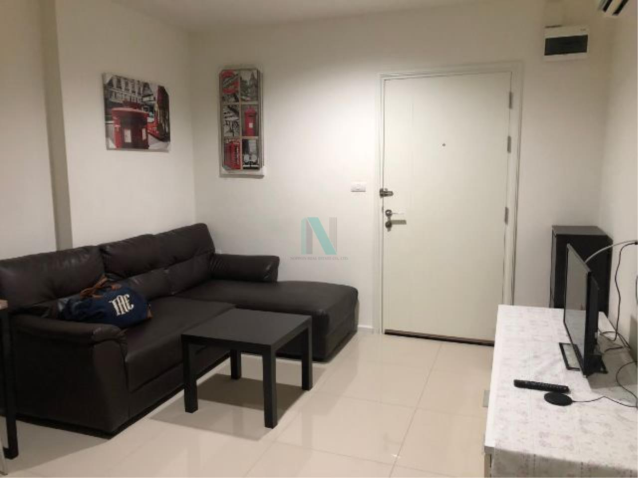 NOPPON REAL ESTATE CO.,LTD. Agency's For rent Aspire Sukhumvit 48 1 bedroom 18th floor Building S near BTS Phra Khanong. 1