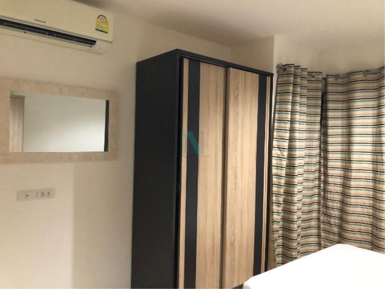 NOPPON REAL ESTATE CO.,LTD. Agency's For rent Aspire Sukhumvit 48 1 bedroom 18th floor Building S near BTS Phra Khanong. 4