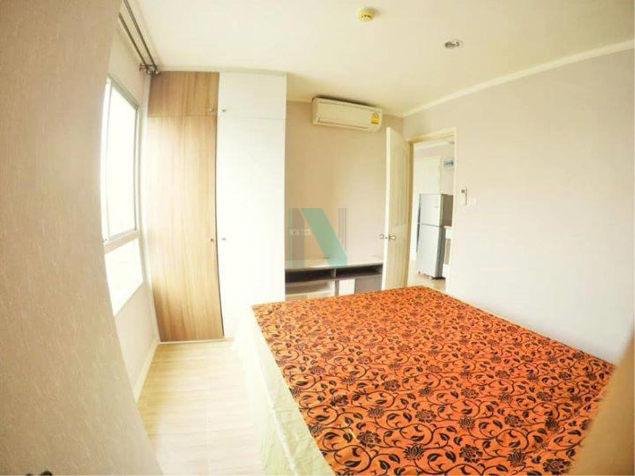 NOPPON REAL ESTATE CO.,LTD. Agency's For rent, Lumpini Ville Phatthanakan-New Phetchaburi, 7th Floor, Building C. 2