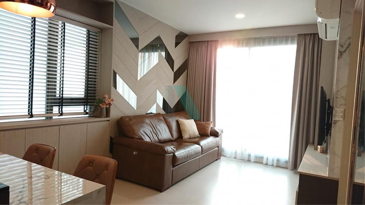 NOPPON REAL ESTATE CO.,LTD. Agency's For Rent Rhythm Sukhumvit 42, 1 bedroom, 22nd floor, near BTS Ekkamai. 2